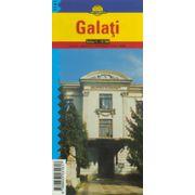 Hartă rutieră Galaţi