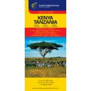 Hartă rutieră Kenya, Tanzania