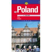 Hartă rutieră Polonia