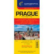 Hartă rutieră Praga