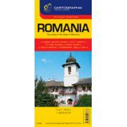 Hartă rutieră România
