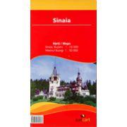 Hartă rutieră Sinaia, Buşteni, Masivul Bucegi