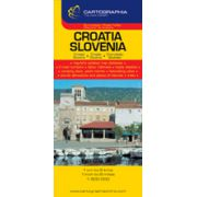 Hartă rutieră Slovenia, Croatia