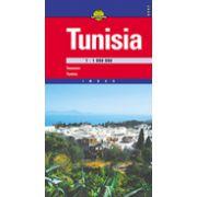 Hartă rutieră Tunisia