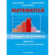 Matematica. Culegere de probleme. Clasa a X-a  - Trunchi Comun si Curriculum Diferentiat