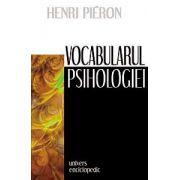 Vocabularul psihologiei