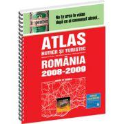 Atlas rutier si turistic Romania 2008 - 2009