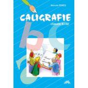 Caligrafie clasele II-IV