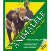 Animalele. Enciclopedie cu autocolante