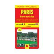 Paris. Harta turistica