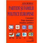 Partide si familii politice europene - Cercetari, Date statistice, Analize politice