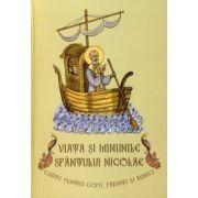 Viata si minunile Sfantului Nicolae - carte pentru copii, parinti si bunici