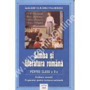 Limba si literatura romana pentru clasa a V-a. Evaluare curenta. Preparator pentru testarea nationala 2005
