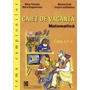Matematica. Caiet de vacanta. Clasa a II-a. Tema campionilor