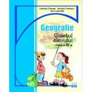 Geografie. Caietul elevului clasa a IV-a