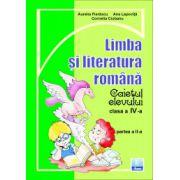 Limba si literatura romana. Caietul elevului pentru clasa a IV-a partea II