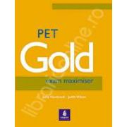 PET Gold Exam Maximiser with key