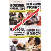 Pachet promotional 4 carti - Ceaiurile mele de dragoste-Cum se vindecă impotenţa şi frigiditatea doar cu ceaiuri,  Borşuri, ciorbe, supe-150 de reţete, Usturoiul senatorul legumelor