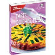 Tarte, quiches, pizza: 60 de retete simple si gustoase