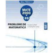 MATE 2000+8/9.PROBLEME DE MATEMATICA. CLASA A XII-A