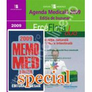 Pachet. Agenda medicala 2009 cu CD si MEMOMED 2009. Memorator de farmacologie si ghid farmacoterapic - Editia 15