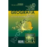 Geografia Romaniei, a Uniunii Europene si a Europei. Teste de tip grila