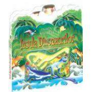 Insula dinozaurilor. Figurine magnetice