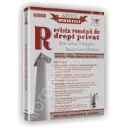 Revista romana de drept privat nr. 6/2008. Anul Gheorghe Beleiu