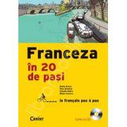FRANCEZA IN 20 DE PASI cu CD