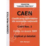 CAEN. Clasificare activitatilor din economia nationala. CAEN Rev.2 explicat si detaliat