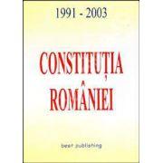 Constitutia Romaniei 1991 - 2003
