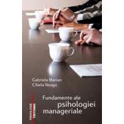 Fundamente ale psihologiei manageriale