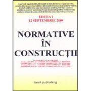 Normative in constructii - editia I