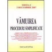 Vamuirea. Proceduri simplificate. Editia I