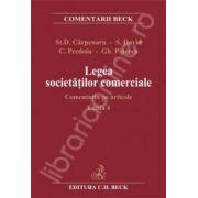 Legea societatilor comerciale. Comentariu pe articole. Editia 4