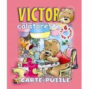 Victor calatoreste. Carte - puzzle