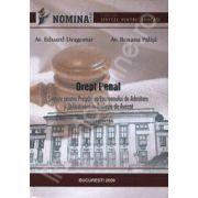 Drept Penal. Sinteze pentru pregatirea examenului de admitere si definitivare in profesia de avocat