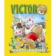 Victor la ferma. Carte - puzzle