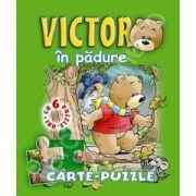Victor in padure. Carte - puzzle