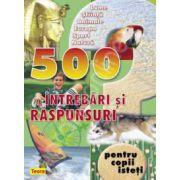 500 intrebari si raspunsuri, verde