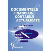 Documentele financiar-contabile actualizate 2009