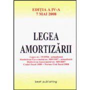 Legea amortizarii. Editia a IV-a. 7 mai 2008