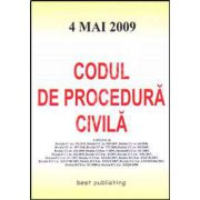 Codul de procedura civila. Editia a III-a. Actualizat la 4 mai 2009
