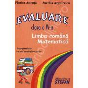 Evaluare - Limba romana si matematica. Clasa a VI-a