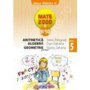 Matematica 2000+9/10 - Aritmetica, Algebra, Geometrie, Clasa a V-a (partea I)