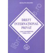 Drept international privat. Curs Universitar. Editia a IV-a