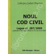 Noul cod civil. Legea nr. 287/2009