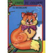 Pisicuta. Carte de colorat cu abtibilduri
