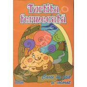 Turtita fermecata. Carte de citit si colorat