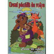 Ursul pacalit de vulpe. Carte de citit si colorat